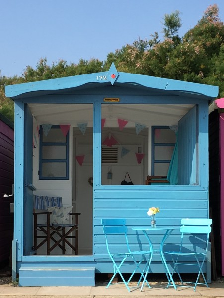 Bertie Hut Walton on the Naze
